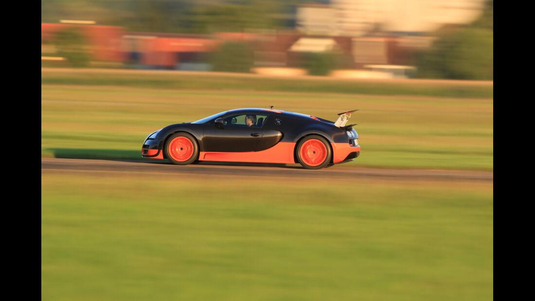 Bugatti Veyron 16.4 Super Sport, Seitenansicht