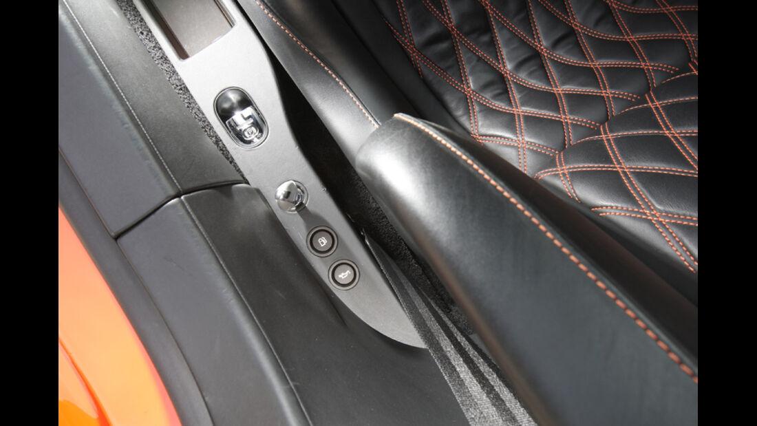 Bugatti Veyron 16.4 Super Sport, Seitentür, Detail