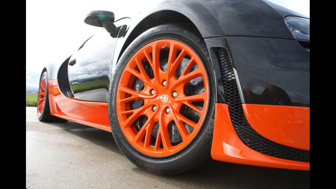 Bugatti Veyron 16.4 Super Sport, Vorderrad, Felge