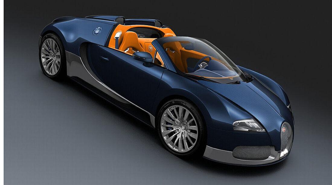 Bugatti Veyron Grand Sport Blue