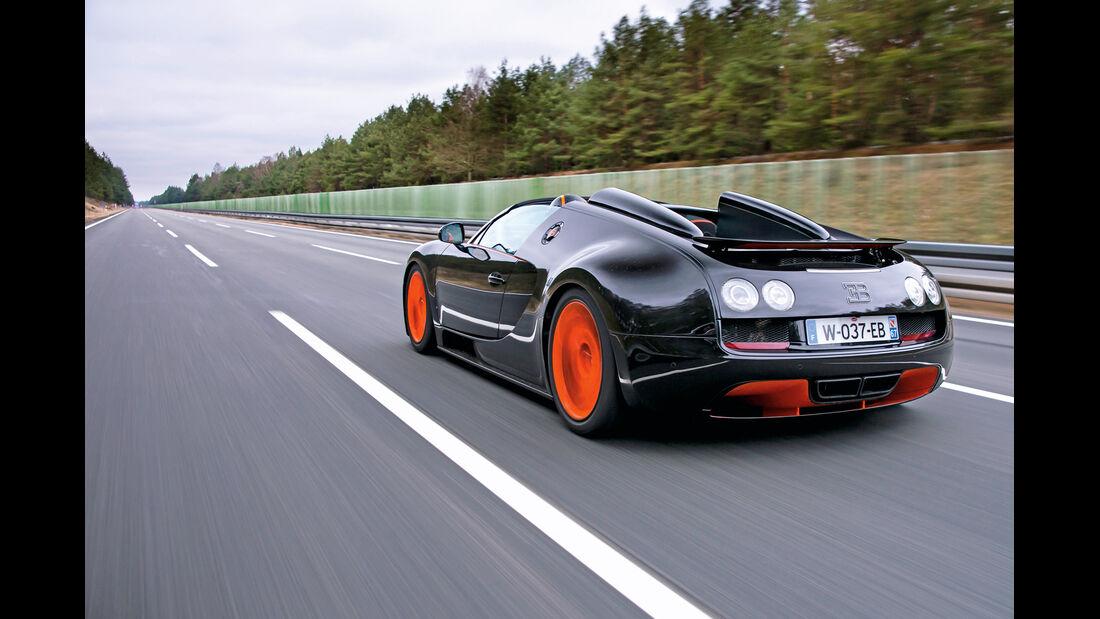Bugatti Veyron Grand Sport Vitesse, Heckansicht