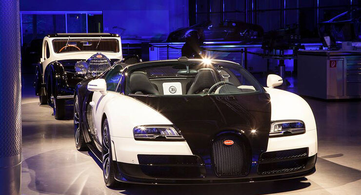 Bugatti Veyron Grand Sport Vitesse Piano-Version