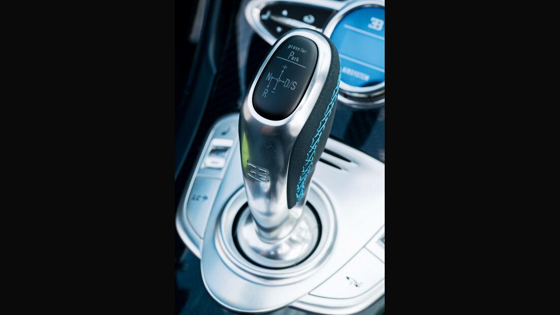 Bugatti Veyron Grand Sport Vitesse, Schalthebel, Schaltknauf