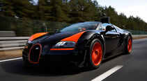 Bugatti Veyron Grand Sport Vitesse, Seitenführung