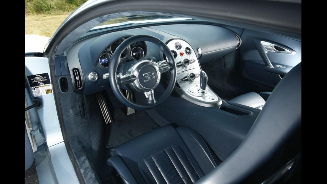 Bugatti Veyron, Innenraum