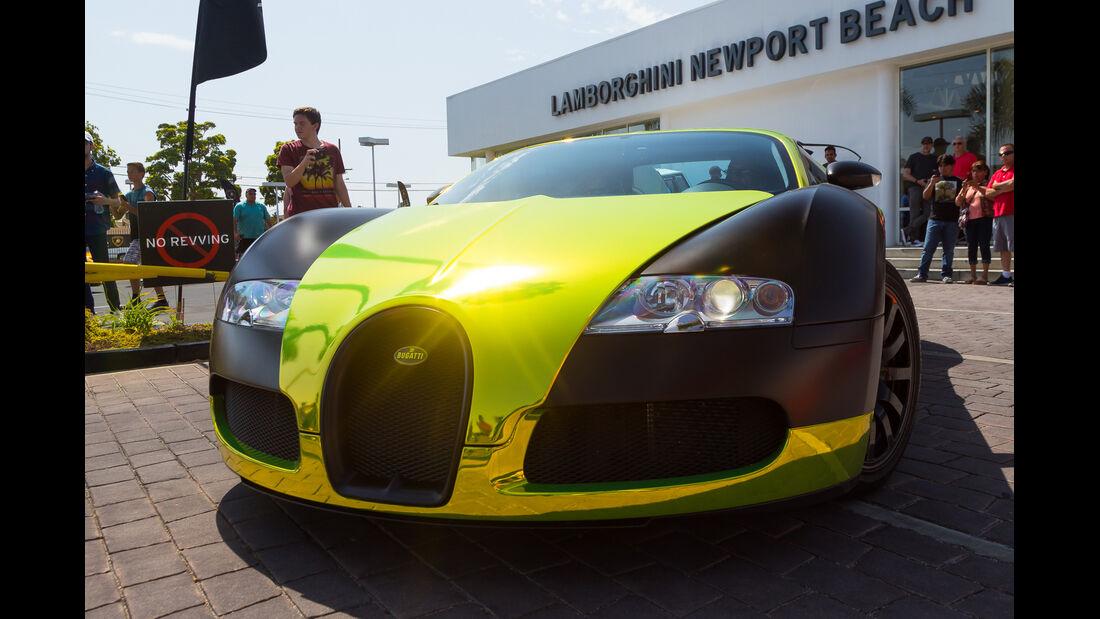 Bugatti Veyron - Newport Beach Supercar Show 2018