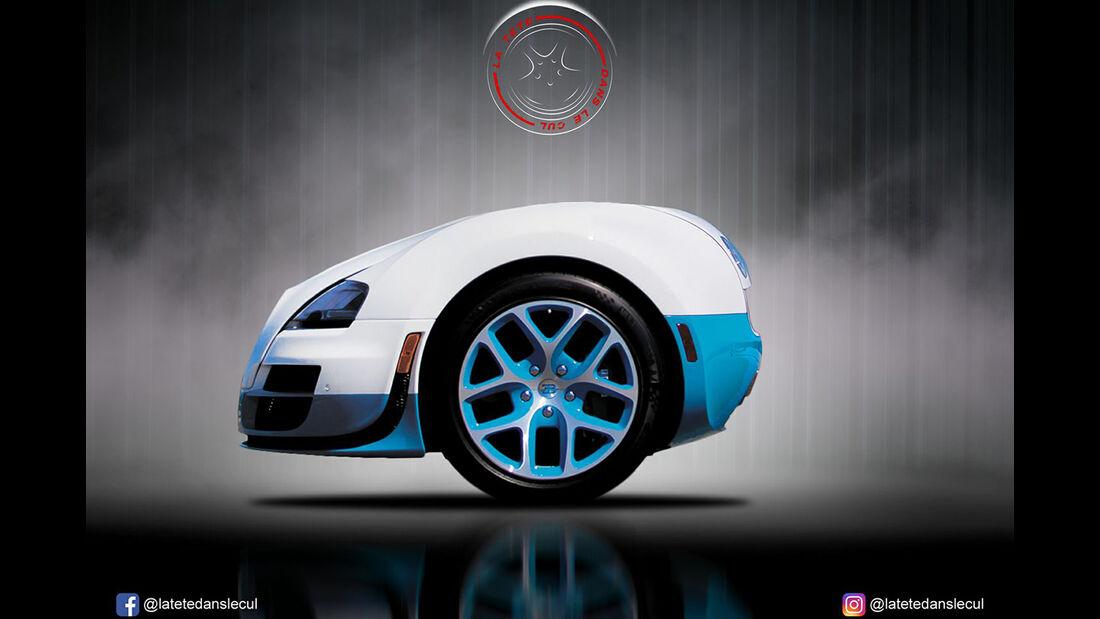 Bugatti Veyron Retusche
