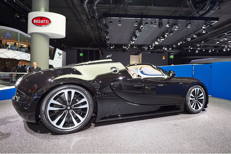 bugatti veyron auf der iaa sondermodell f r jean bugatti auto motor und sport. Black Bedroom Furniture Sets. Home Design Ideas