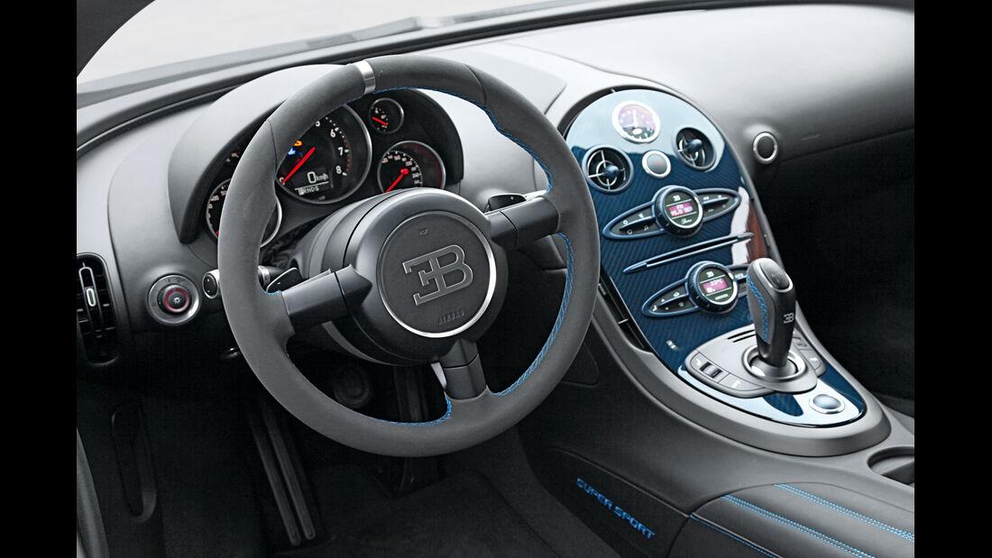 Bugatti Veyron Super Sport, Cockpit