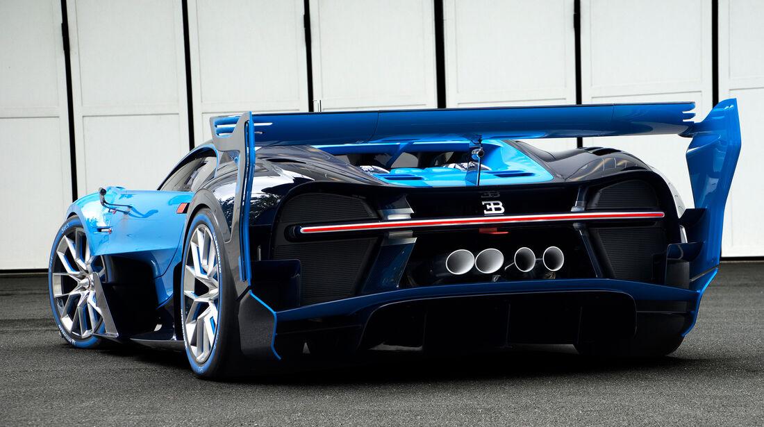 Bugatti Vision GT, 09/15, Showcar Images