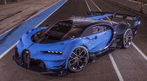 Bugatti Vision Gran Turismo, Exterieur