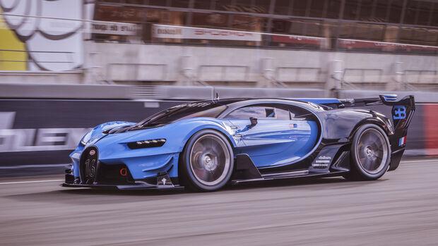 Bugatti Vision Gran Turismo, Fahreindrücke