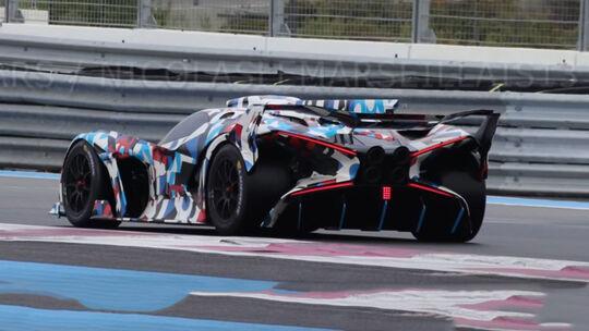 Bugatti Vision Le Mans 2020