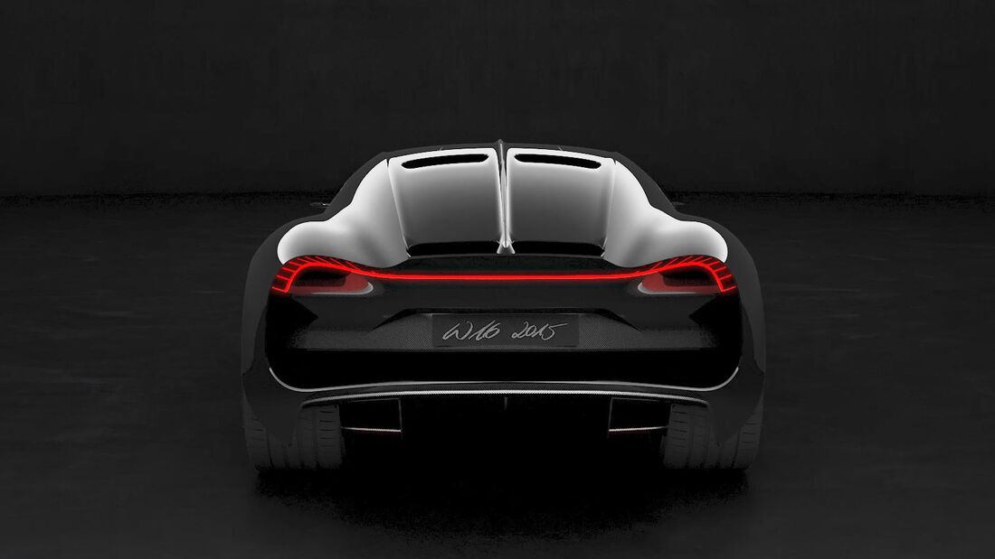Bugatti W16 Coupé