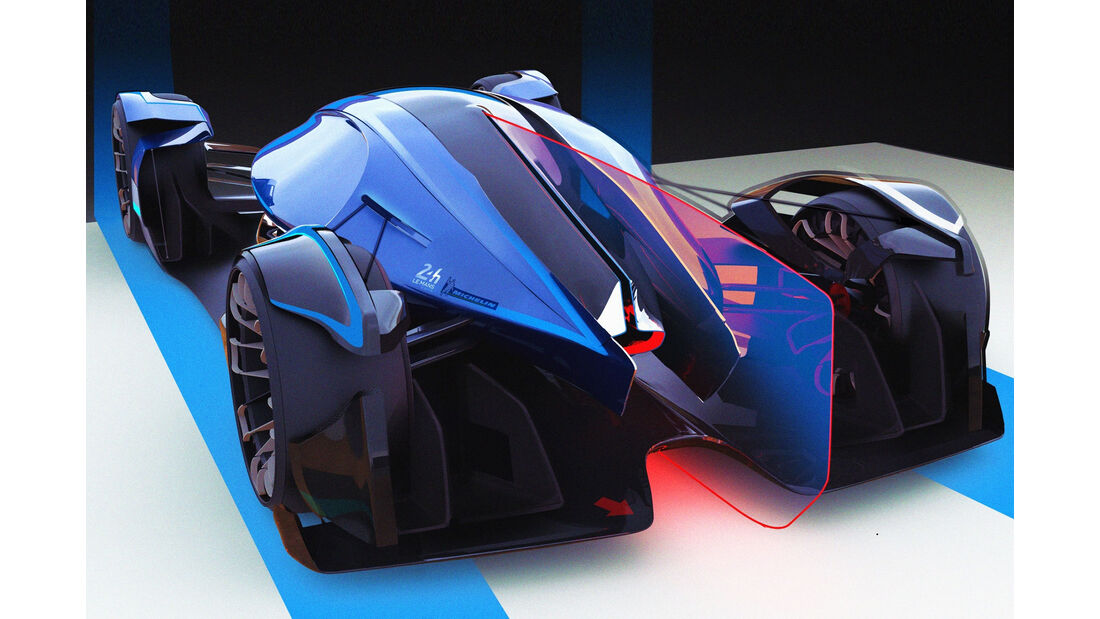 Bugatti Wimille - Le Mans 2030 - Michelin Challenge Design - Motorsport