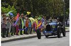 Bugatti bei der Sachsen Classic