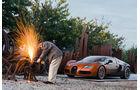 Bugatti veyron Grand Sport Venet Bernar Venet Sondermodell