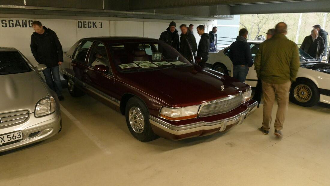 Buick Roadmaster auf der Bremen Classic Motorshow 2020