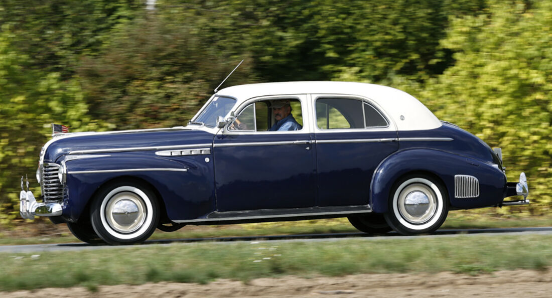 Buick Series 50 Super, 4-Door Sedan, Baujahr 1941
