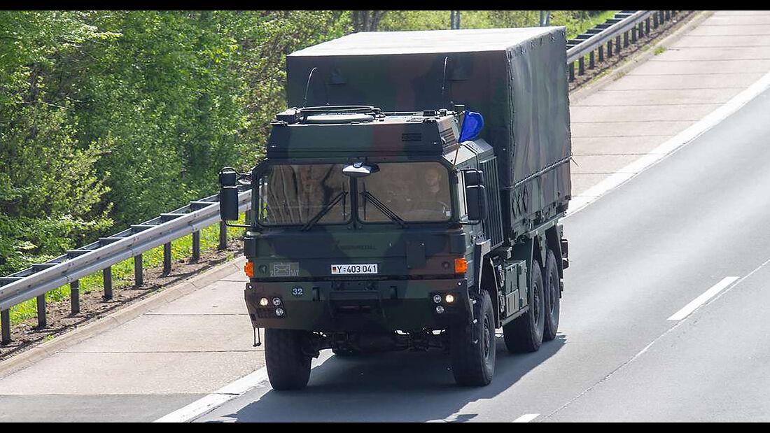 Bundeswehr Lkw