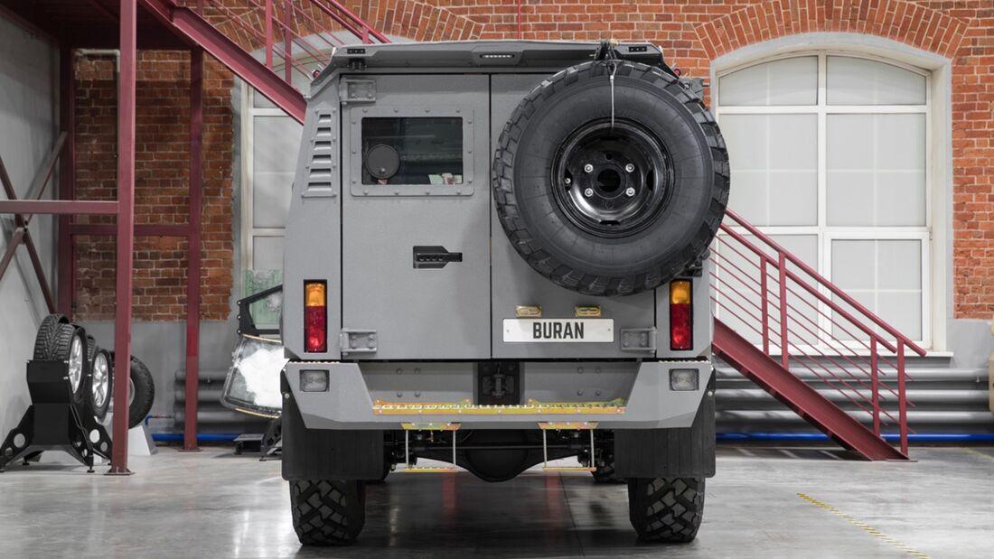 Buran 4x4 Armoured Vehicle