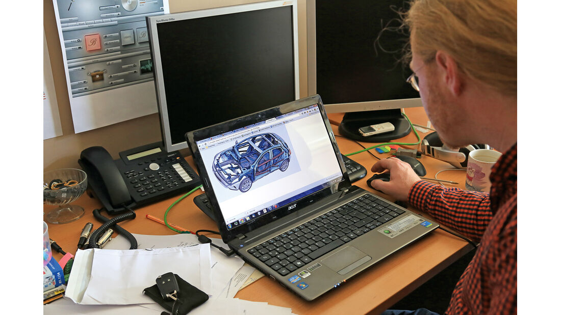 Burmester-Soundsystem, Arbeitsplatz
