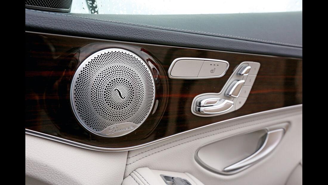 Burmester-Soundsystem, Lautsprecher, Tür