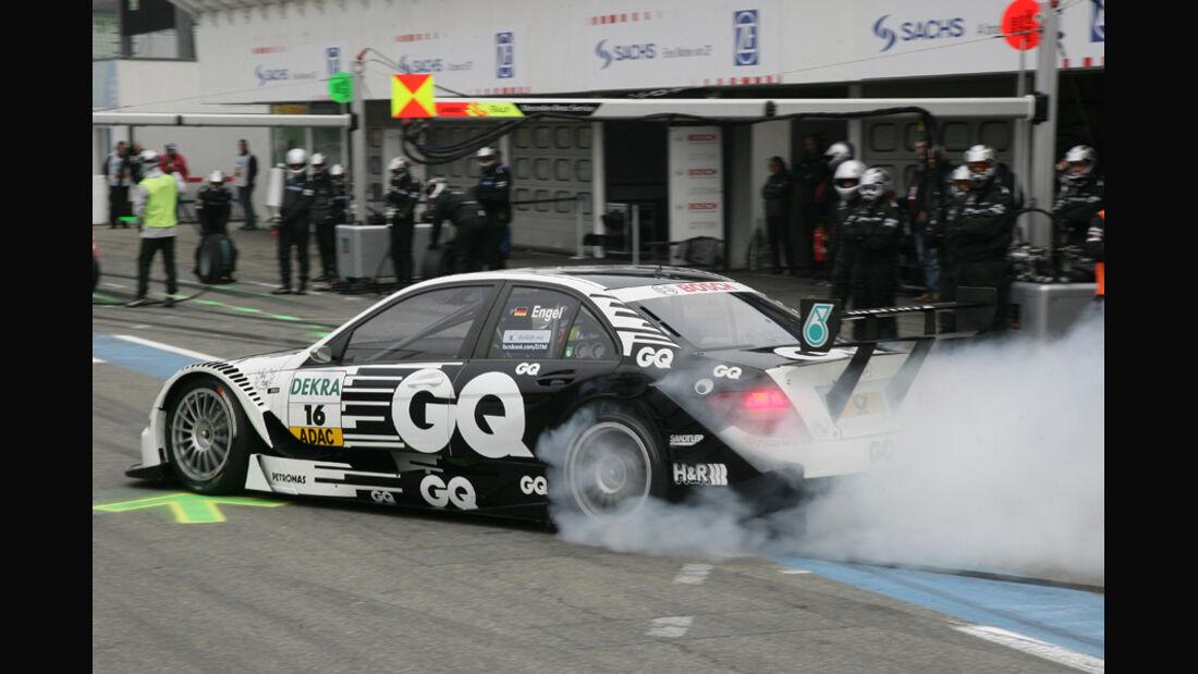 Burnout DTM Hockenheim Finale 2011