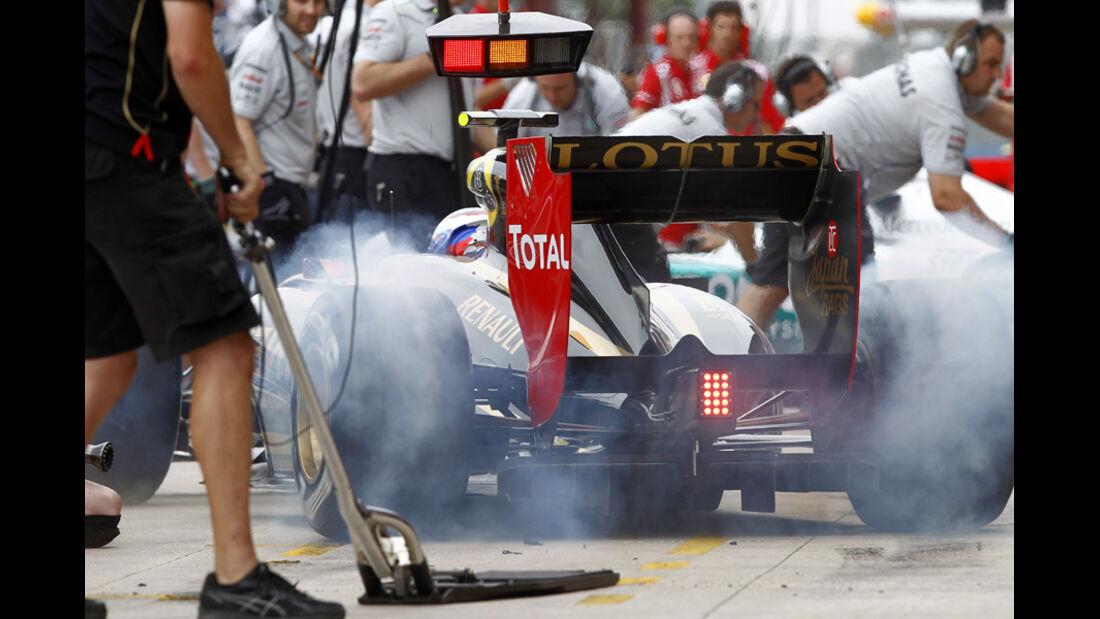 Burnout Pirelli 2011
