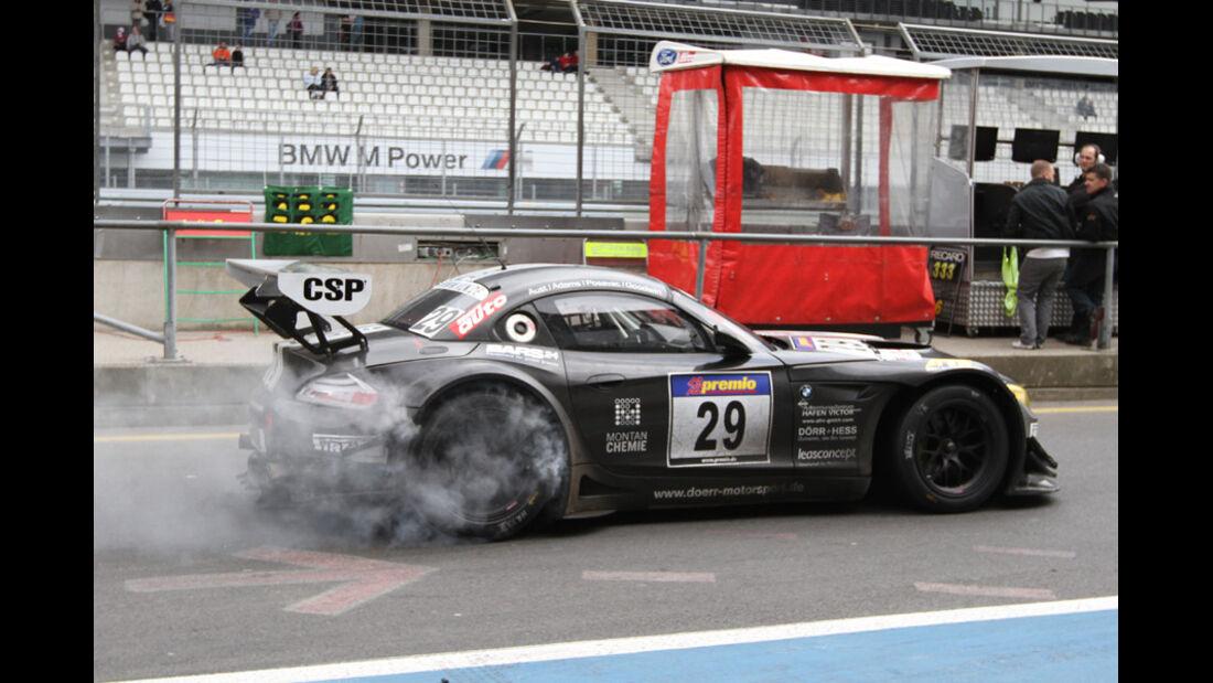 Burnout VLN Langstreckenmeisterschaft Nürburgring