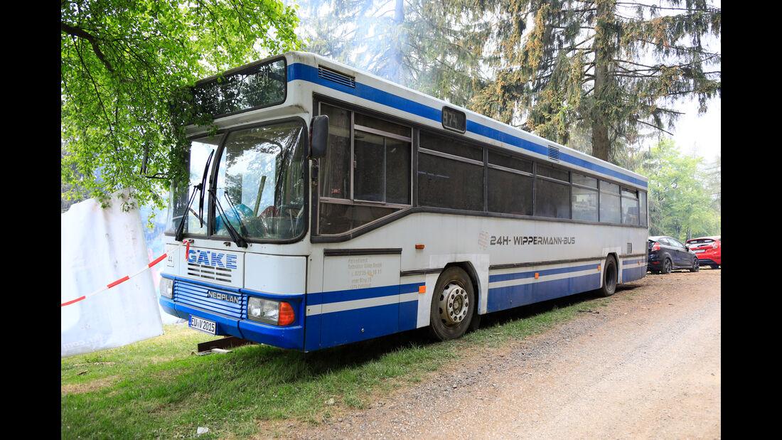 Bus - Fan-Autos - 24h-Rennen Nürburgring 2018 - Nordschleife