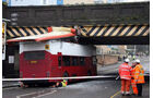 Bus Unfall Brücke