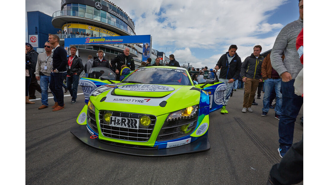 Busch Audi R8 -VLN Nürburgring - 7. Lauf - 23. August 2014