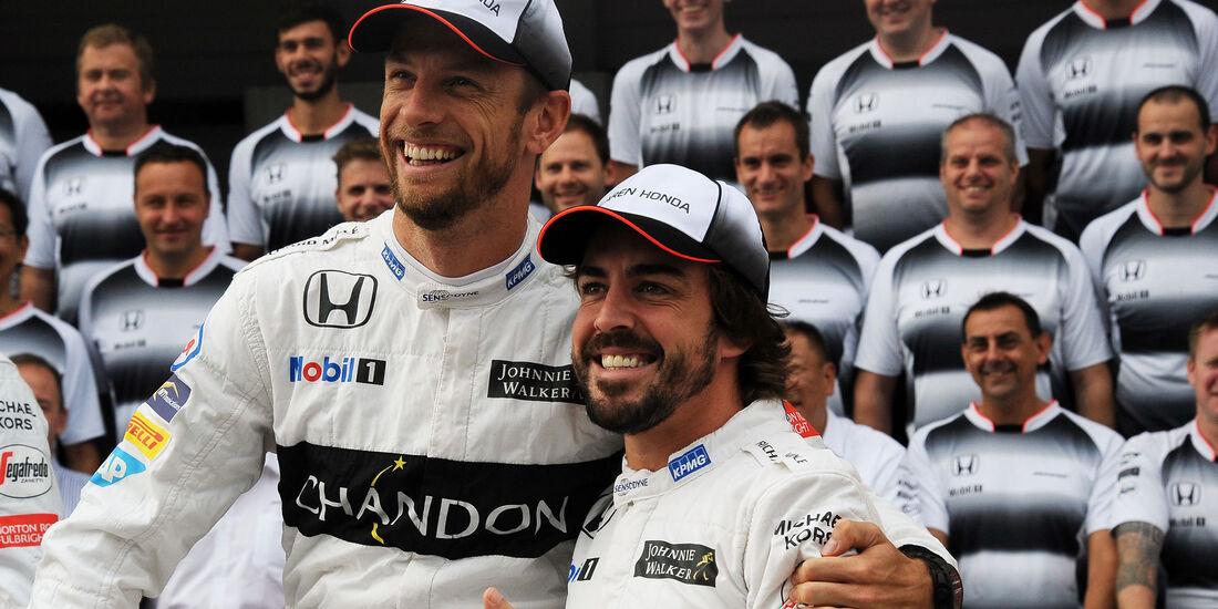 Button - Alonso - McLaren-Honda - Formel 1 - GP Japan - Suzuka - Freitag - 7.10.2016