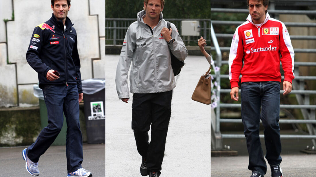 Button, Alonso & Webber