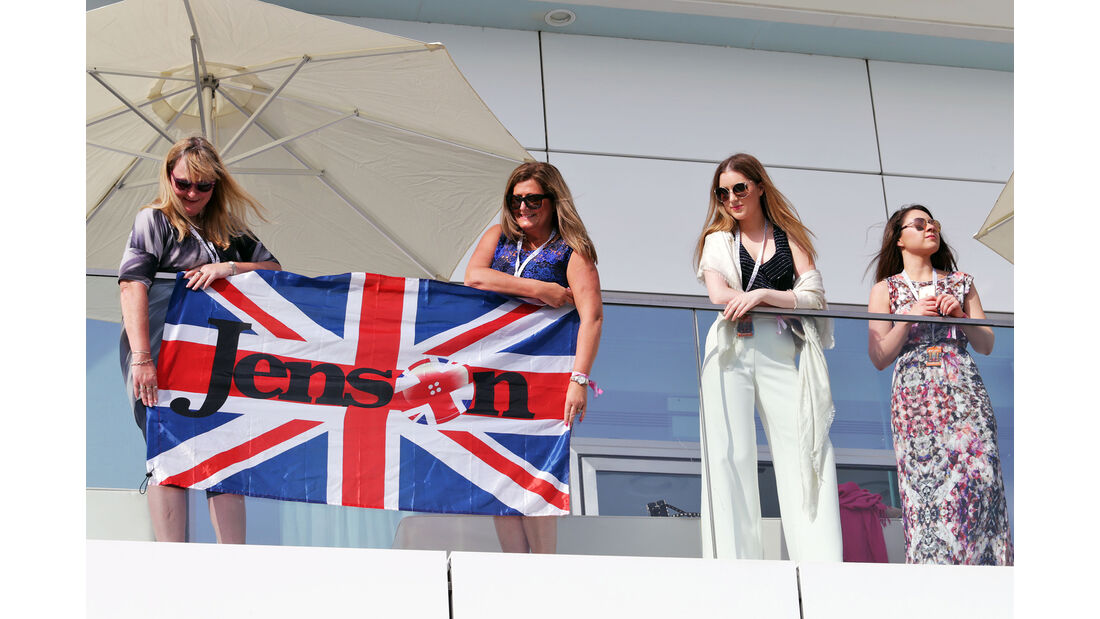 Button-Fans - Formel 1 - GP Abu Dhabi - 26. November 2016