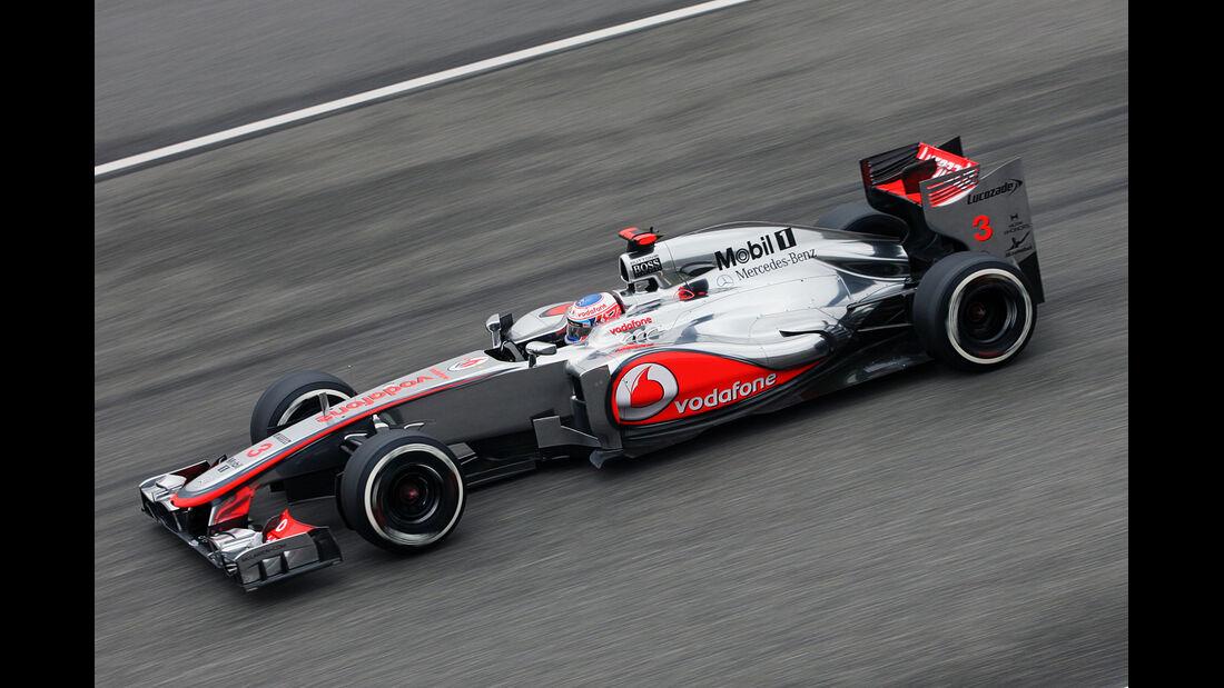 Button - Formel 1 - GP China - 13. April 2012