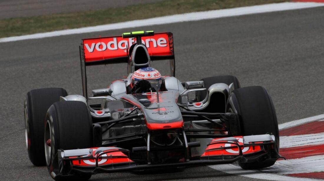 Button Formel 1 GP China 2011