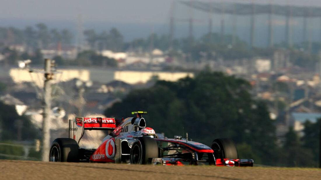 Button  - Formel 1 - GP Japan - 07. Oktober 2011