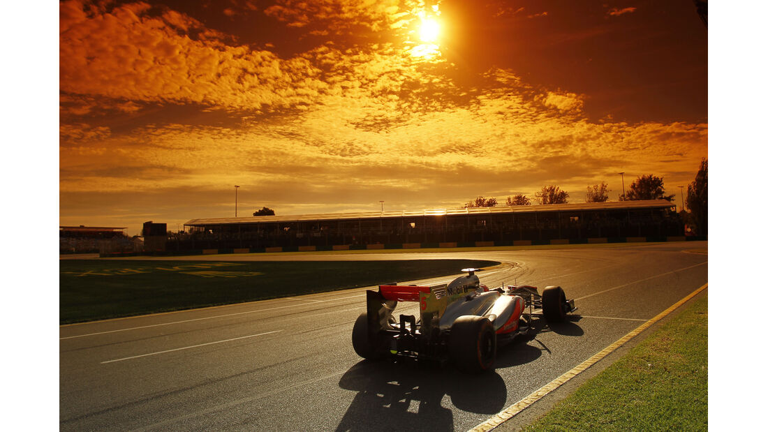 Button GP Australien 2013