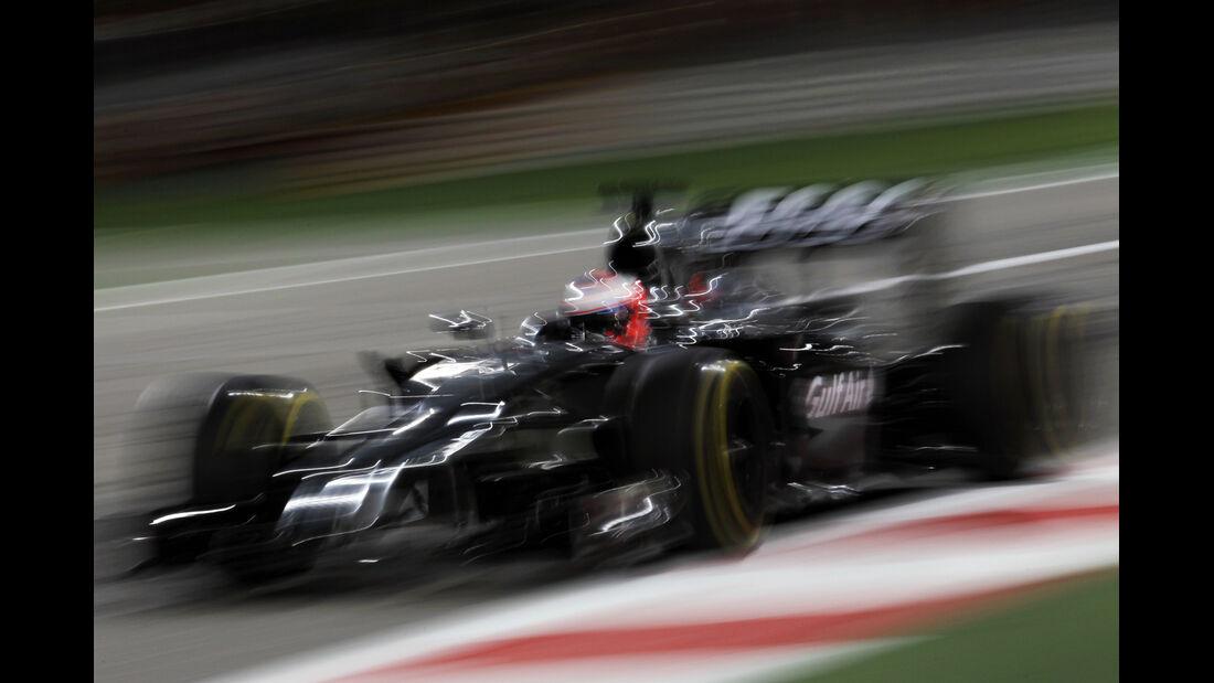 Button - GP Bahrain 2014