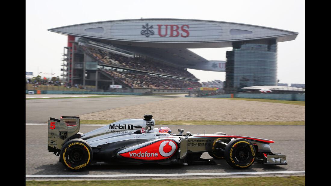 Button GP China 2013