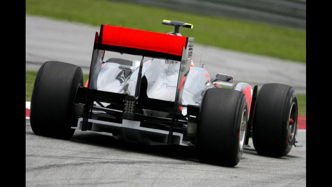 Button GP Malaysia 2011