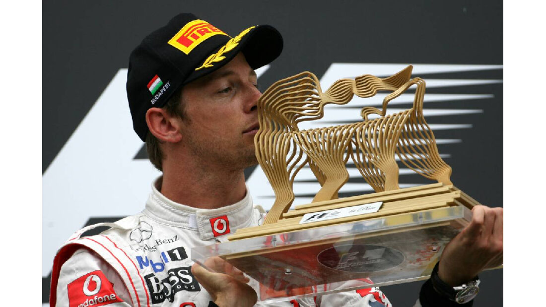 Button - GP Ungarn - Formel 1 - 31.7.2011 - Highlights