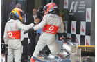 Button & Hamilton GP Australien 2012