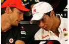 Button & Kobayashi - GP Japan - Suzuka - 6. Oktober 2011