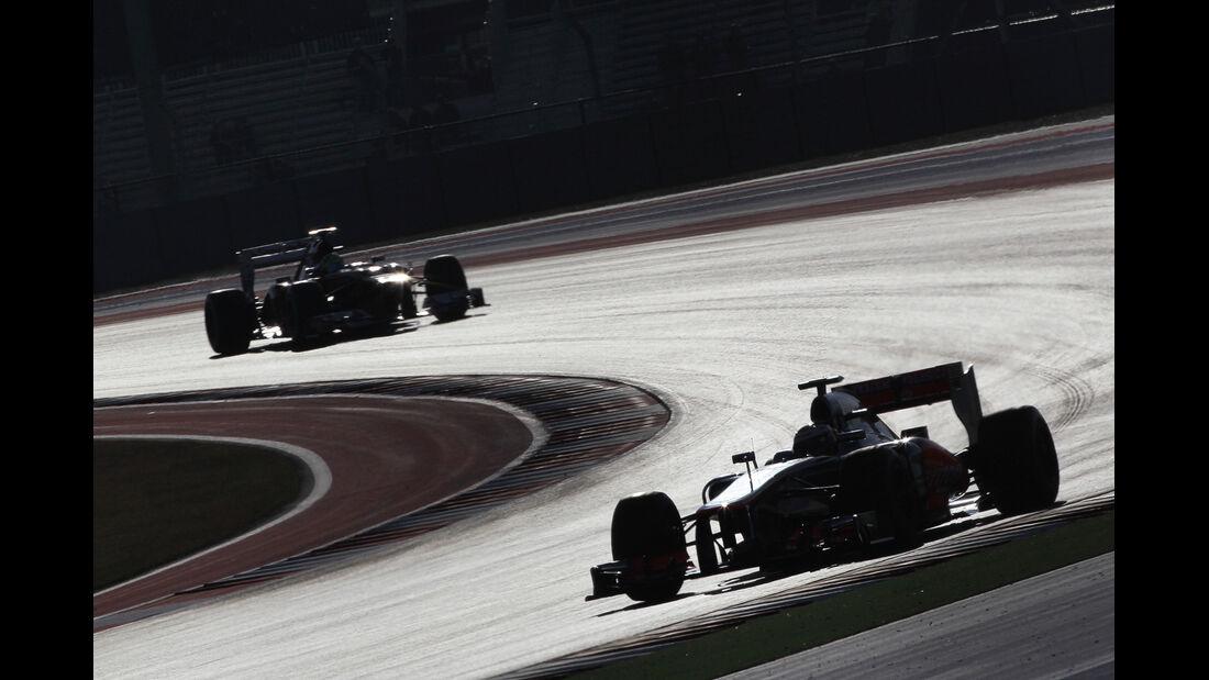 Button & Massa - Formel 1 - GP USA - Austin - 17. November 2012