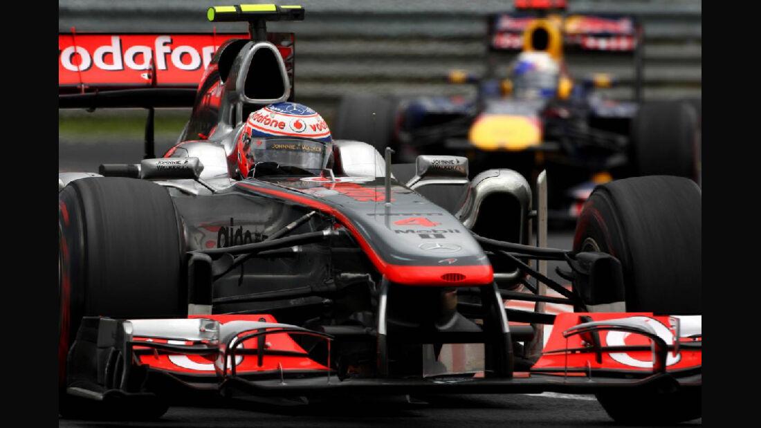 Button - Noten - GP Ungarn - Formel 1 - 31.7.2011