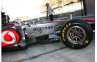Button - Pirelli Test