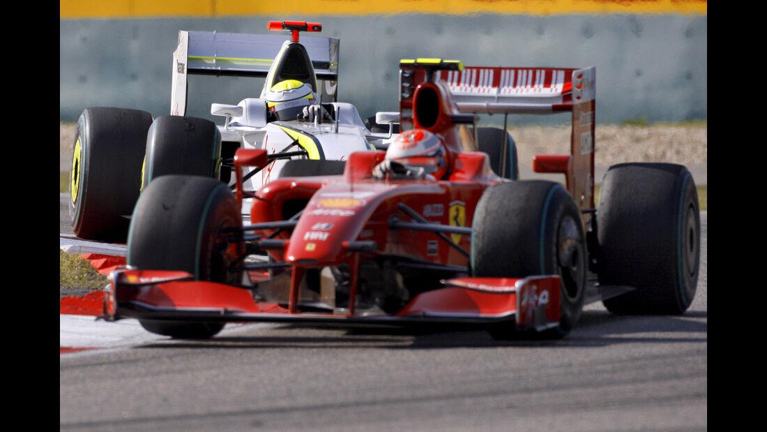 Button & Räikkönen